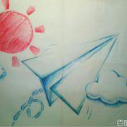 一只迷途的纸飞机