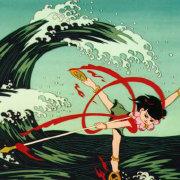玉皇驾下大罗仙身长六丈首带金轮三头九眼八臂图片