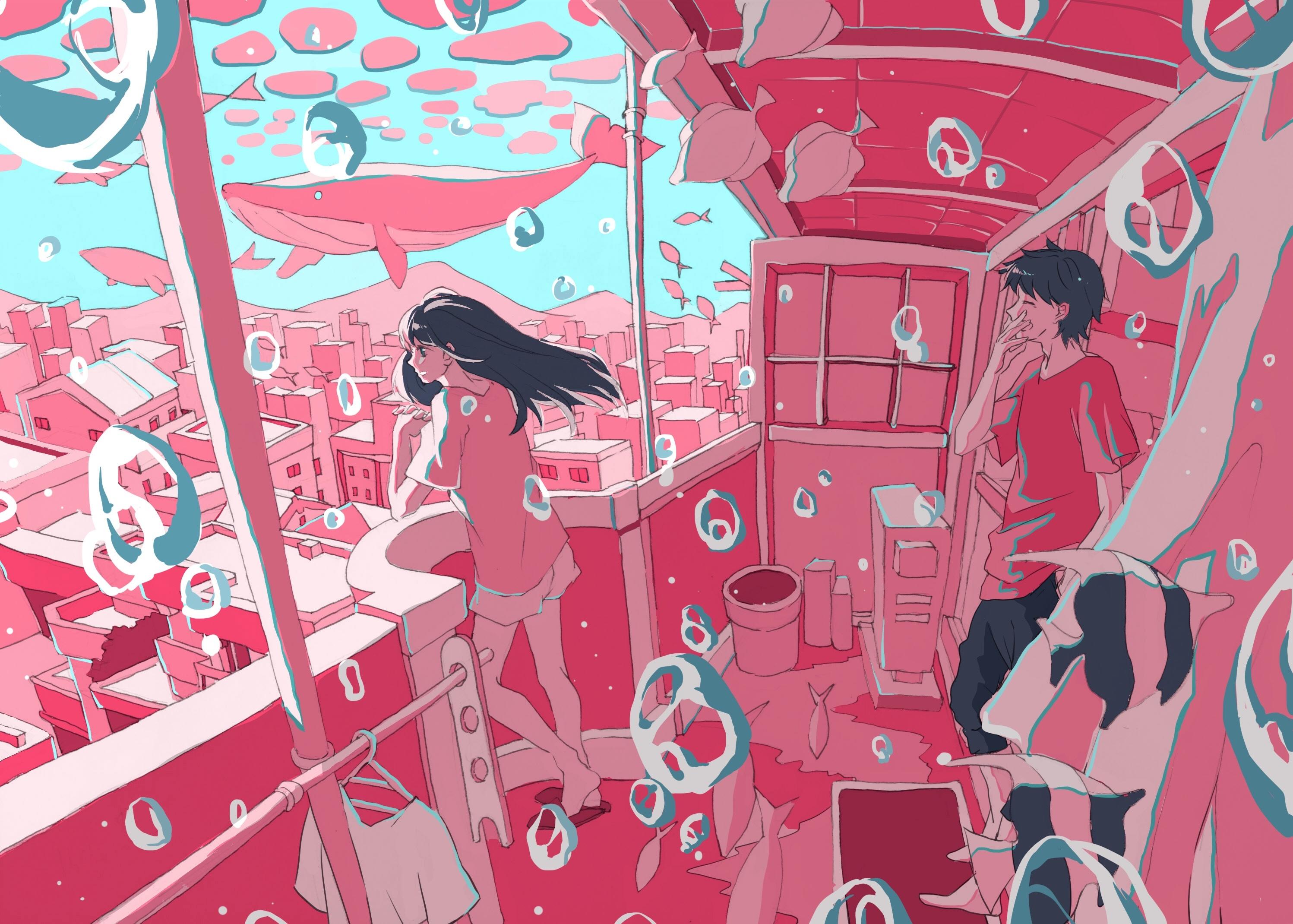 Pixiv日本画师いちご飴插画作品插图25