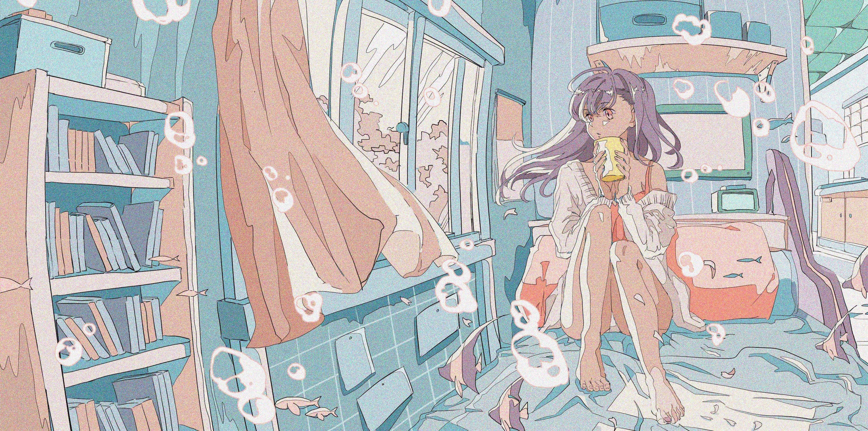 Pixiv日本画师いちご飴插画作品插图4