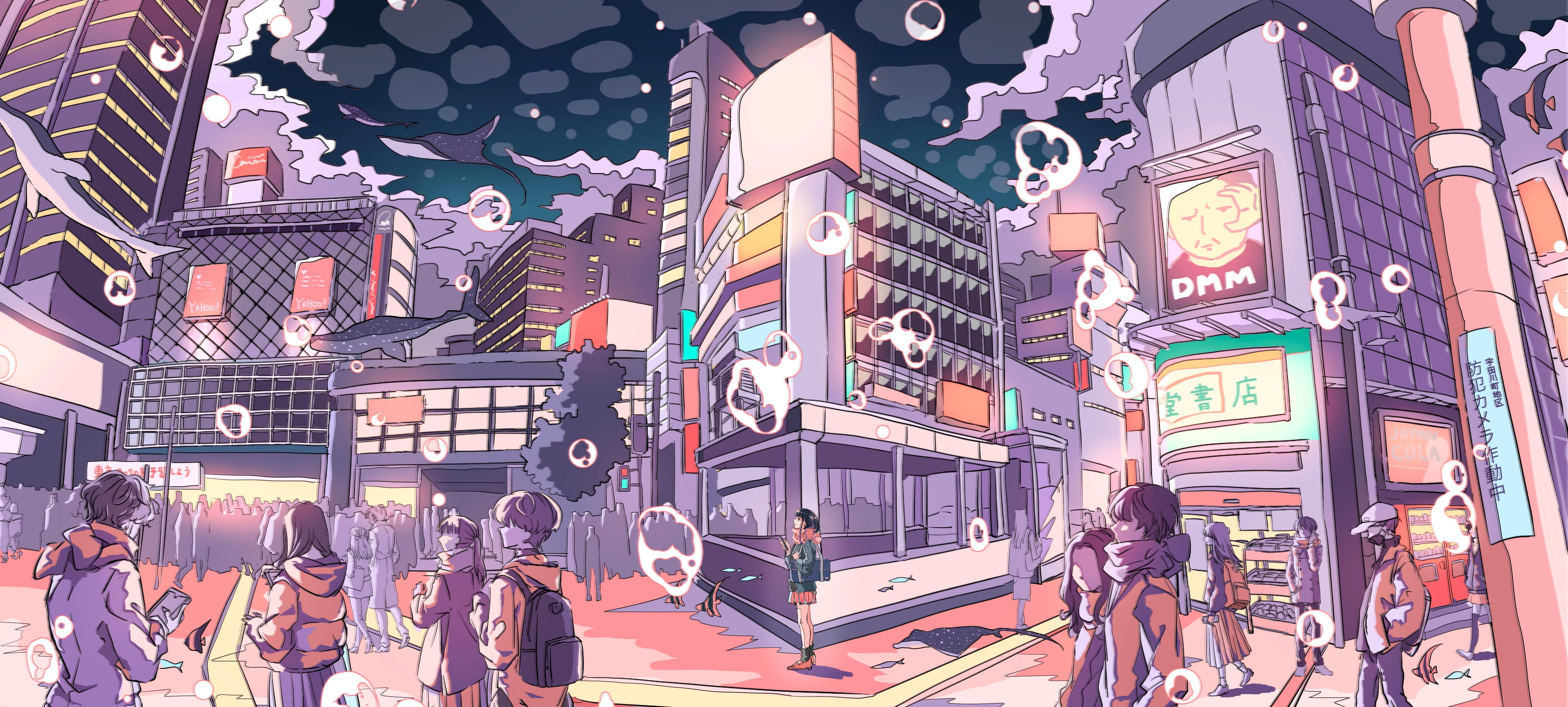 Pixiv日本画师いちご飴插画作品插图6