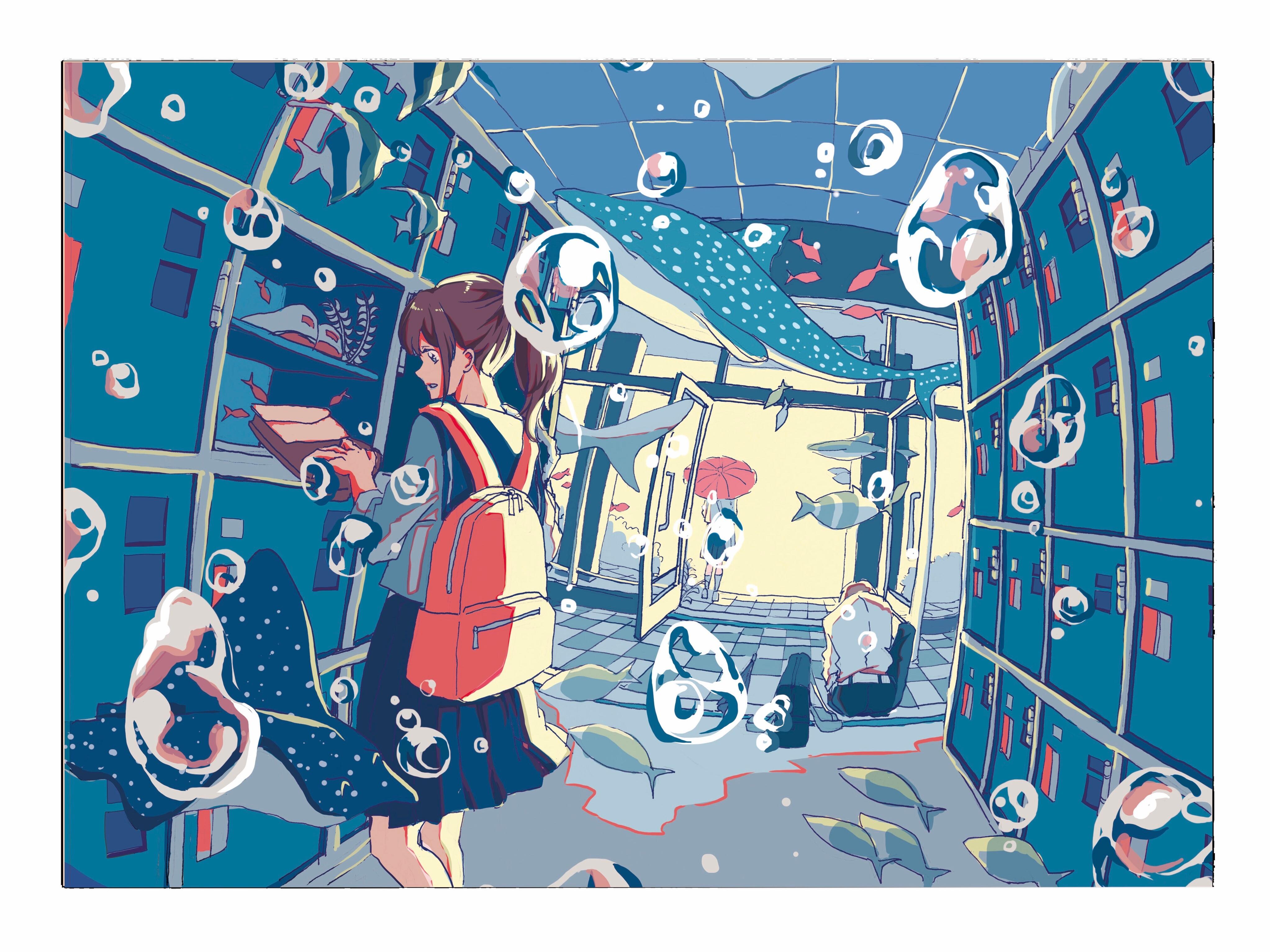 Pixiv日本画师いちご飴插画作品插图28