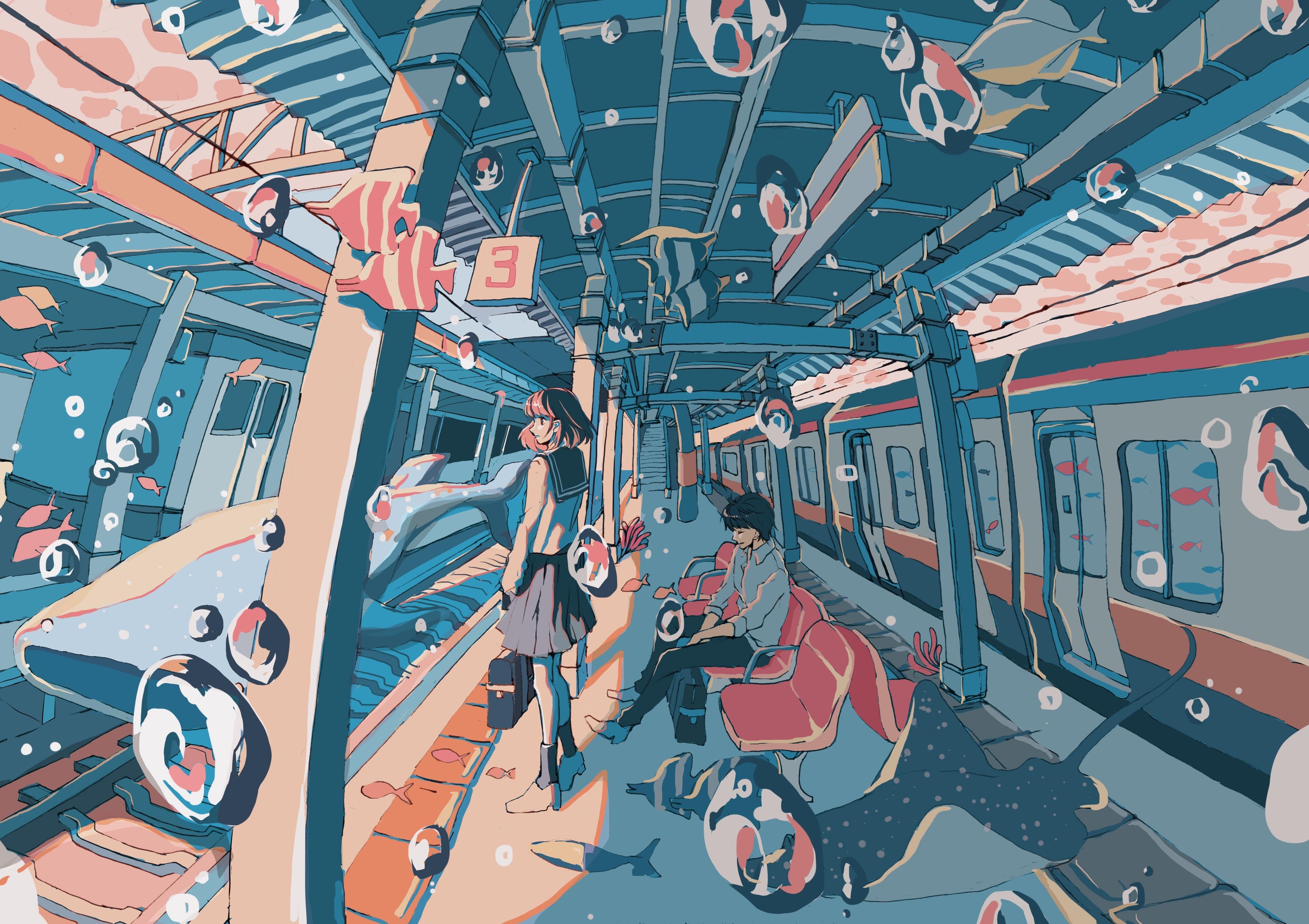 Pixiv日本画师いちご飴插画作品插图29