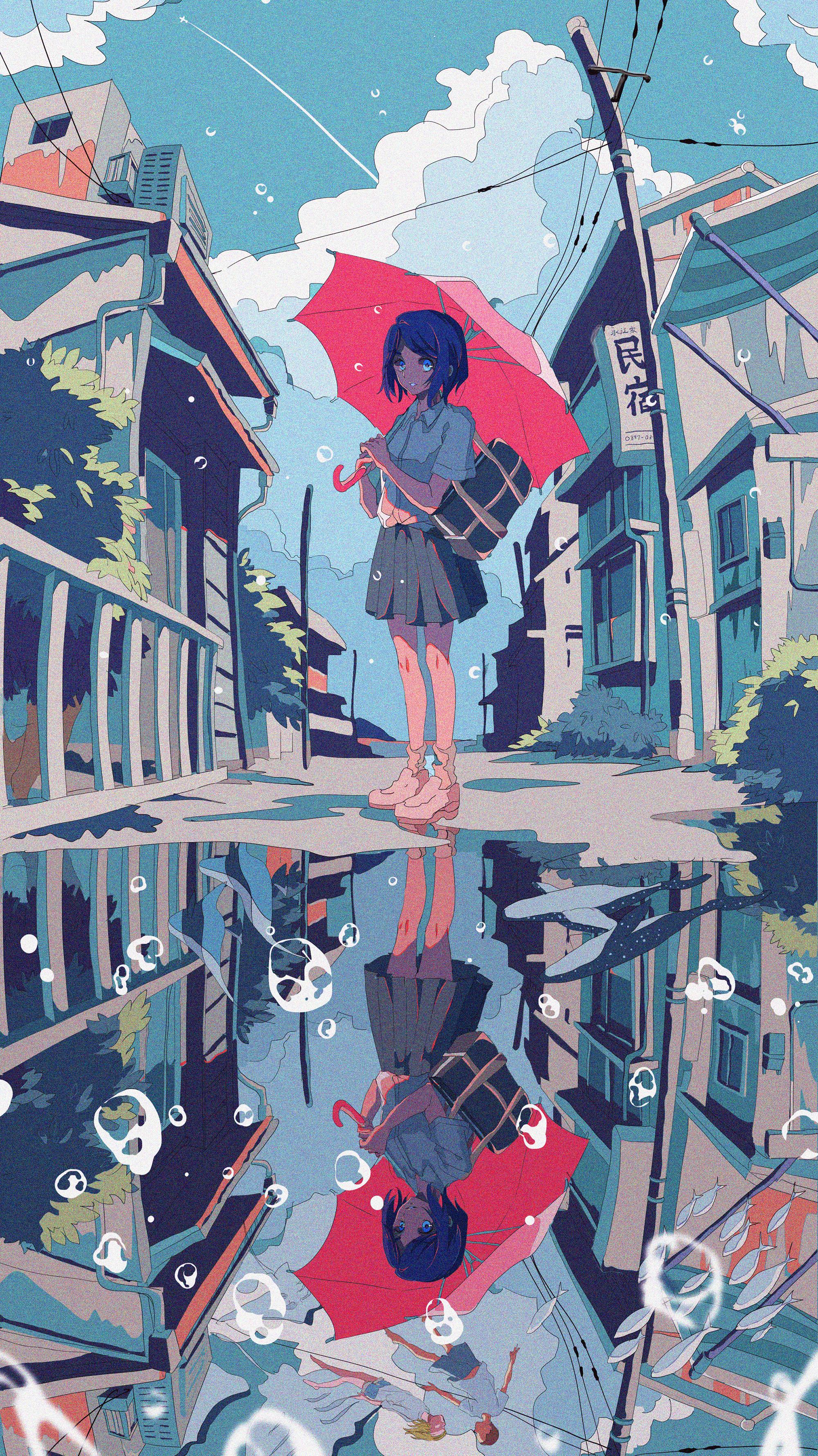 Pixiv日本画师いちご飴插画作品插图15