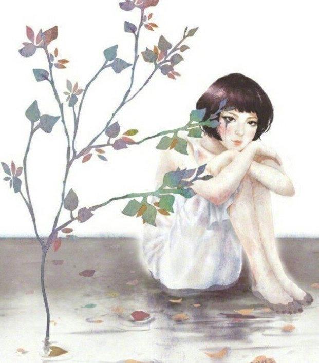 晚安心语心情句子0528:深爱变成了疏远,热情变成了笑柄