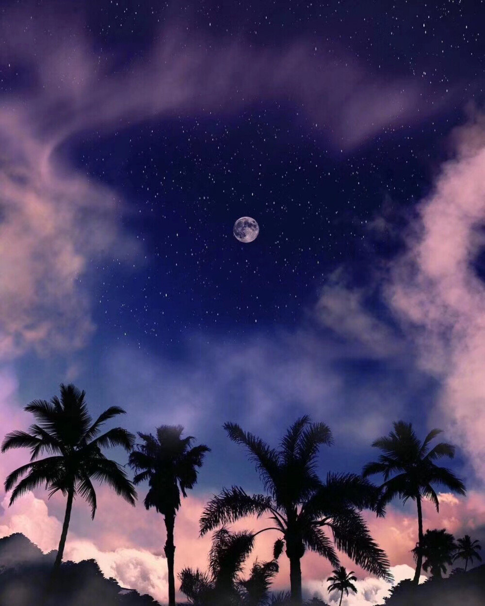 晚安心语温暖短句短语:希望我不是被选择,而是被热爱