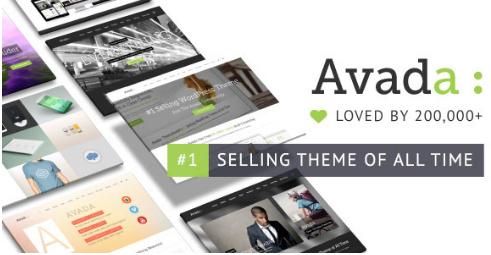 Avada v5.0.2-响应式多功能wordpress企业、博客主题