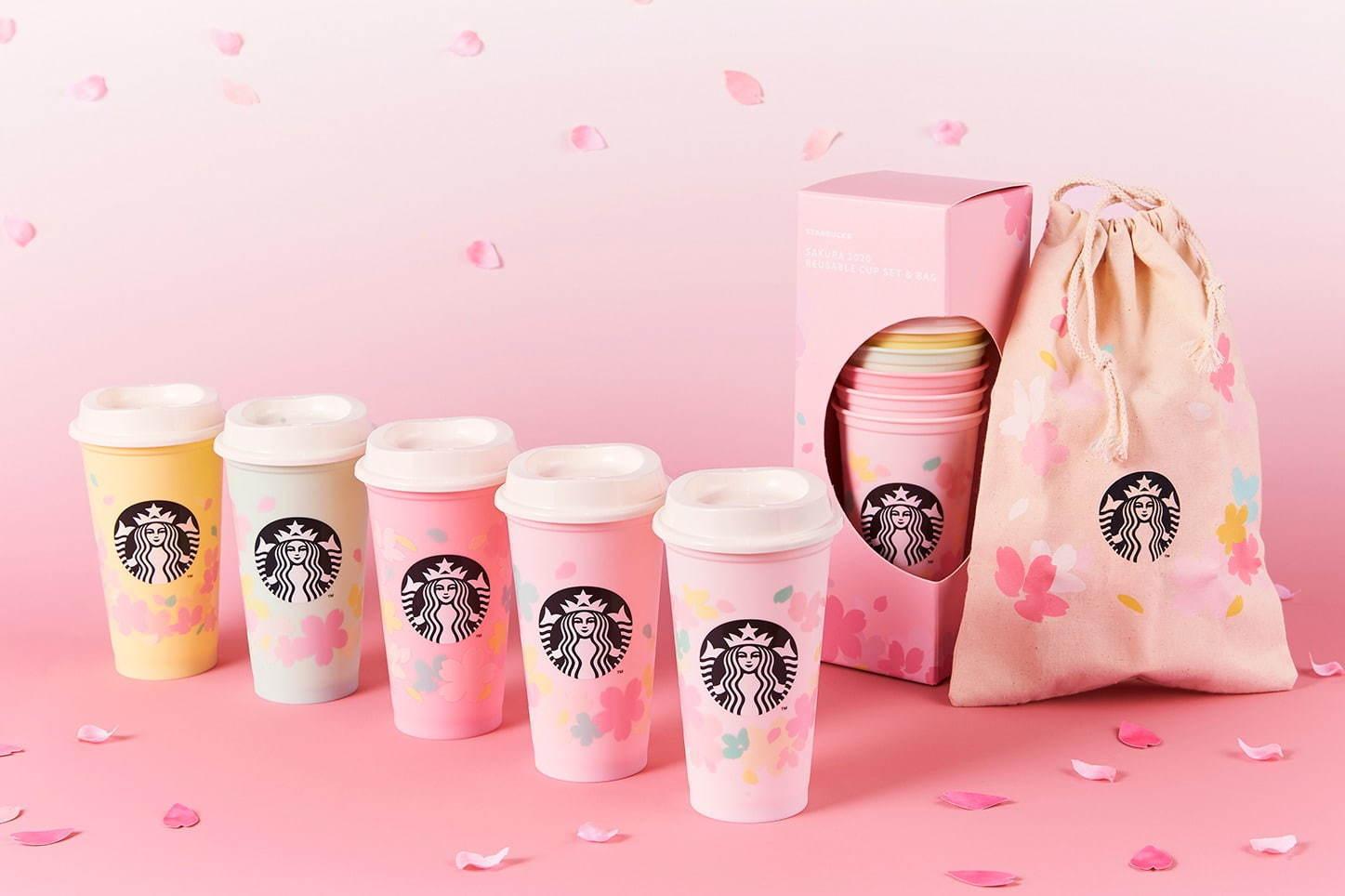 日本星巴克 樱花系列 樱花牛奶布丁 樱花牛奶拿铁