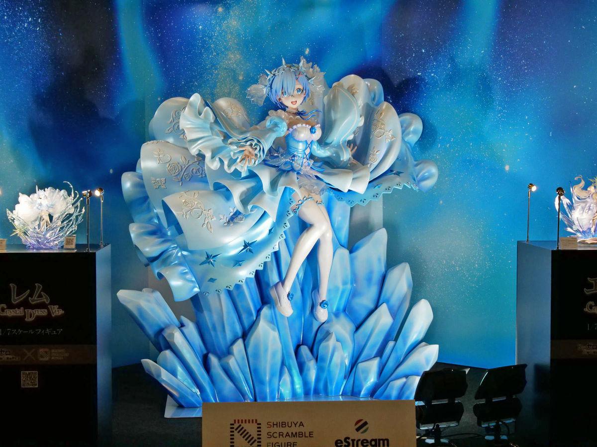 雷姆 爱蜜莉雅 Re:从零开始的异世界生活 WF2020冬 SHIBUYA SCRAMBLE FIGURE