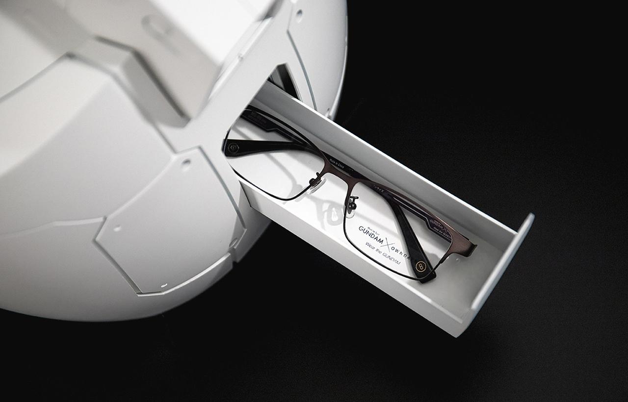 owndays 机动战士高达 眼镜 收纳盒 高达