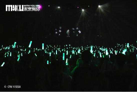 未来有你·初音未来2019中国巡演广州完美收官,百万人线上同步观演645