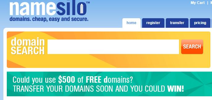 Namesilo – 3.39美元注册.Net域名(免费隐私保护/不限数量/自由转出)