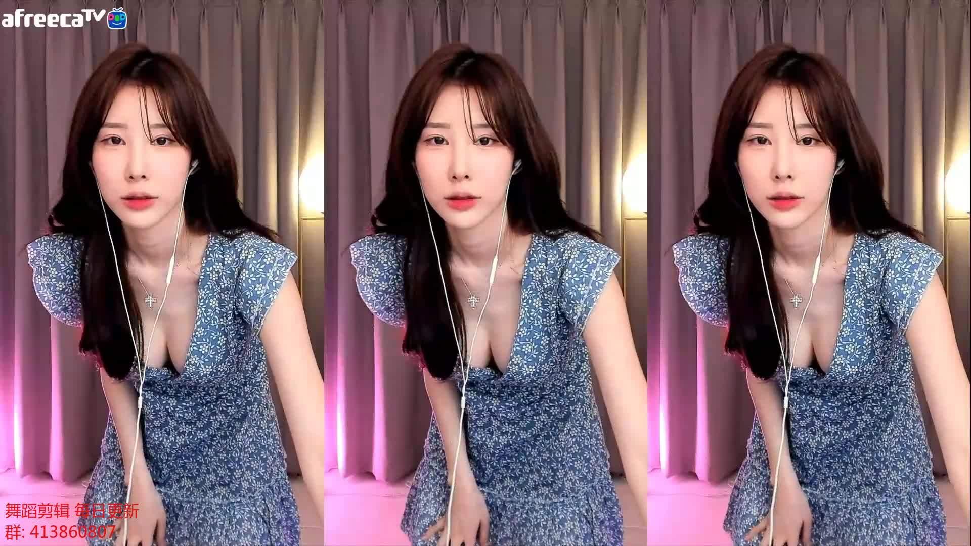 [AfreecaTV-赛拉] 2020年5月15日 韩国主播性感热舞直播回放