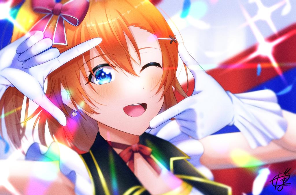 【P站美图】《LoveLive!》高坂穗乃果壁纸特辑2021- ACG17.COM