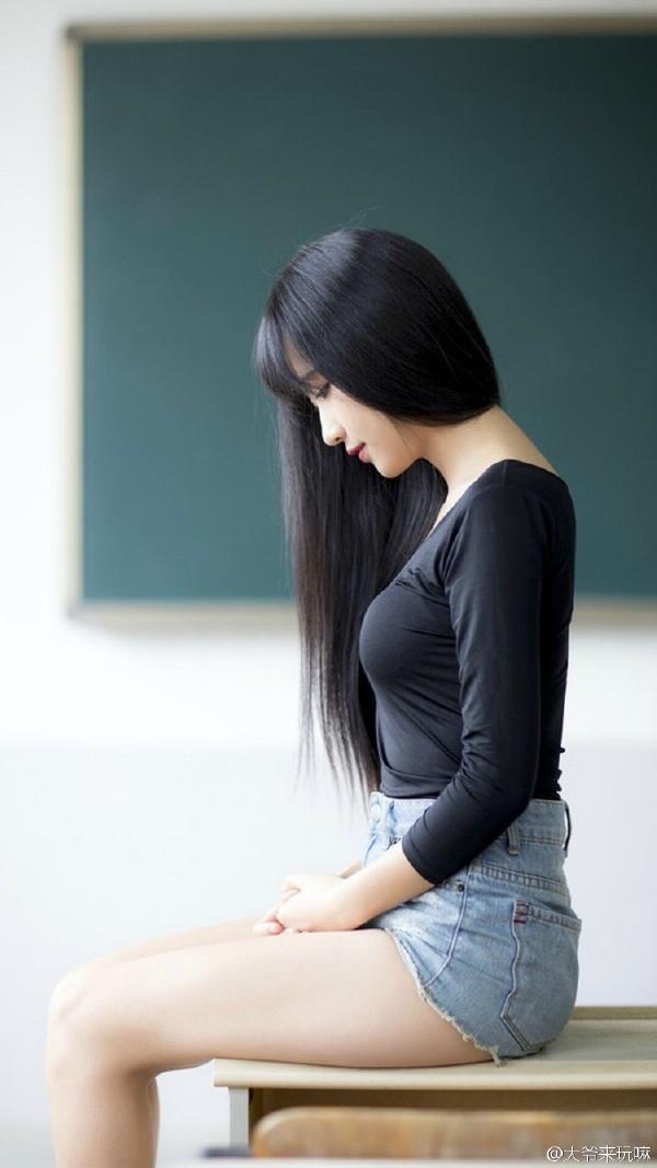 最美女老师!我的补习老师!