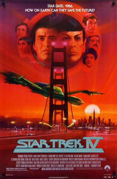 星际旅行4:抢救未来 Star Trek IV: The Voyage Home