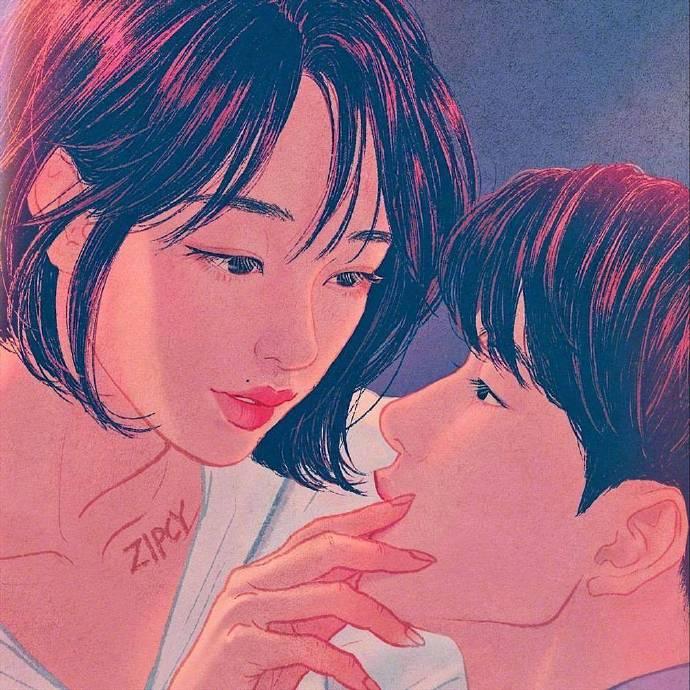 晚安心语说说简单句子:我喜欢你,来自左肩,靠近心脏