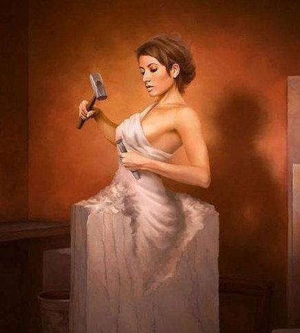 晚安心语阳光191104:生活不是一种刁难,而是一种雕刻
