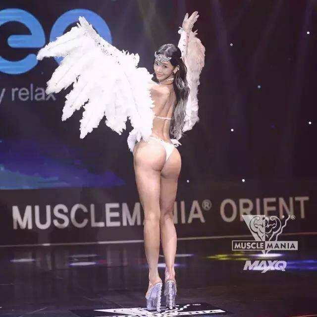 【李燕花】美女gif 韩国健体模特冠军 肌肉女也能让你舔屏
