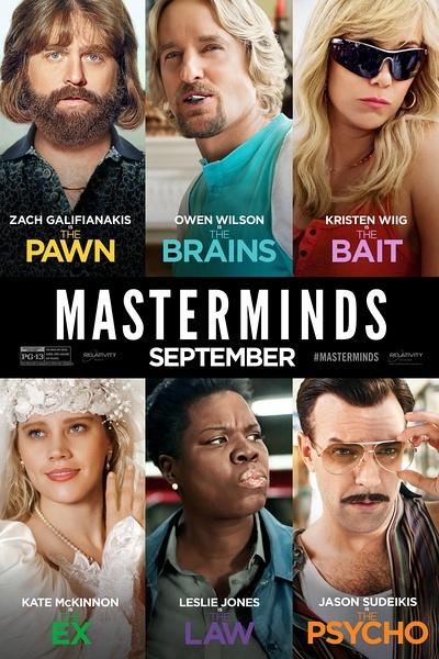 犯罪大师 Masterminds 【2016】【喜剧 / 动作 / 犯罪】【美国】