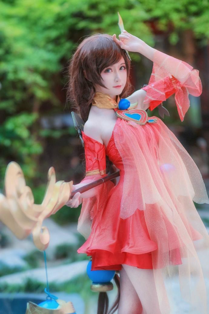 【cos正片】王者荣耀 大乔 守望着天空 大海 和你的回忆 cn:yui金鱼 cosplay-第1张