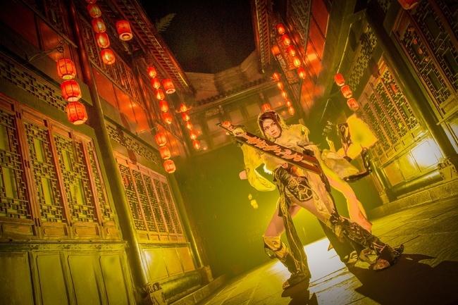 【cos正片】剑网3——藏剑·破虏二小姐 cn:寒殇 cosplay-第6张