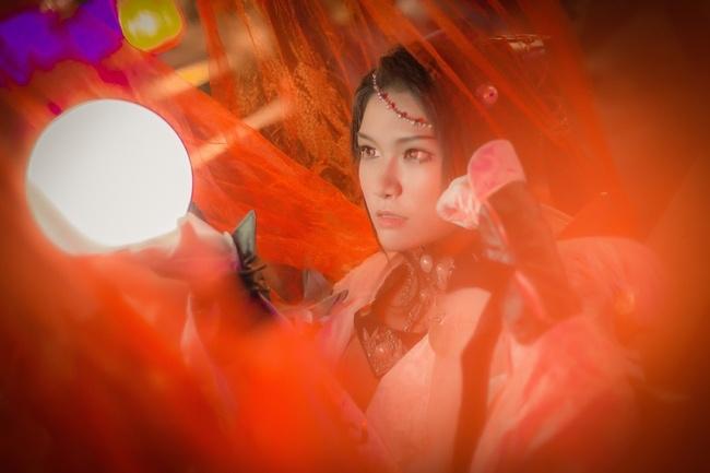 【cos正片】剑网3——藏剑·破虏二小姐 cn:寒殇 cosplay-第16张