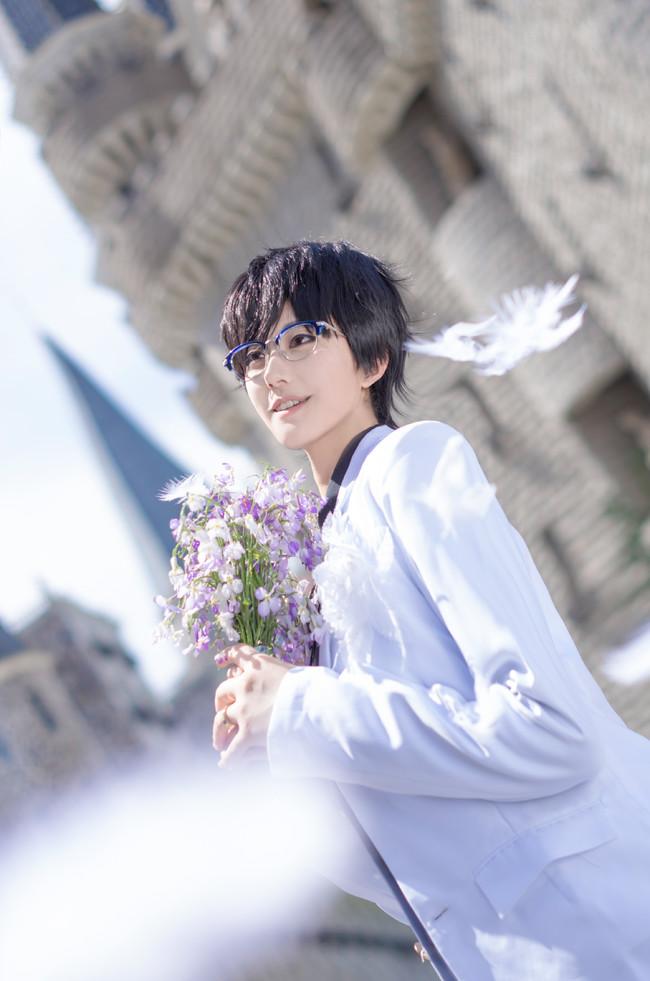 【cos正片】《冰上的尤里》今天你要嫁给我了♡维勇蜜月婚服.avr(误)cn:君子妖Cain cosplay-第3张