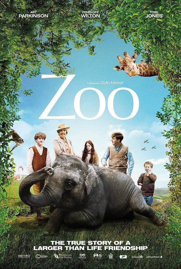 动物奇缘 Zoo 【WEB-DL720p/1080p内嵌中英字幕】【2018】【家庭/历史/战争】【爱尔兰/英国】