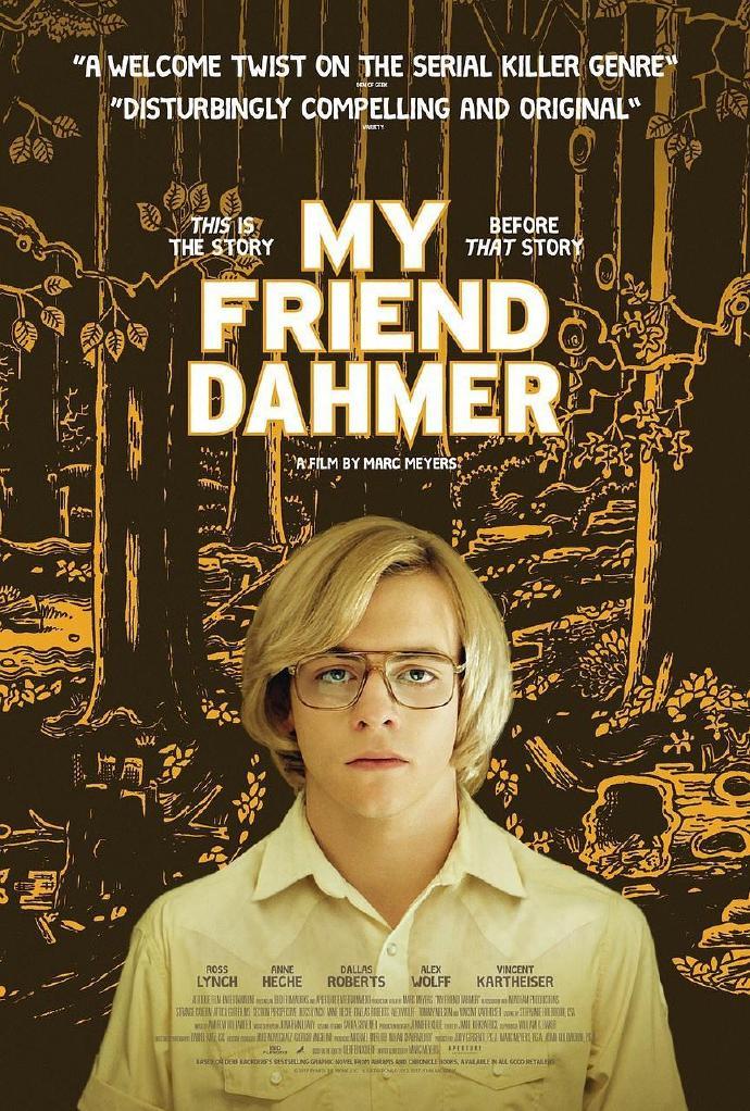 我朋友是杀人狂 My Friend Dahmer【蓝光720p/1080p内嵌中英字幕】【2017】【剧情/同性/传记/犯罪】【美国】