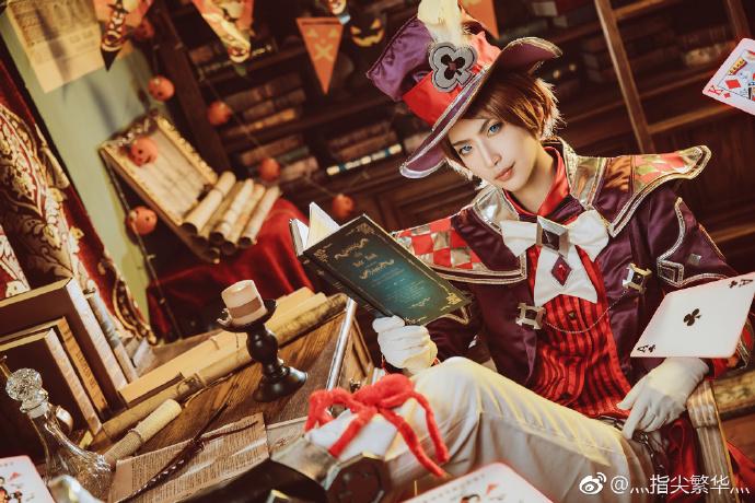 【cos正片】《王者荣耀》同人 李元芳x狄仁杰cosplay欣赏 cosplay-第8张