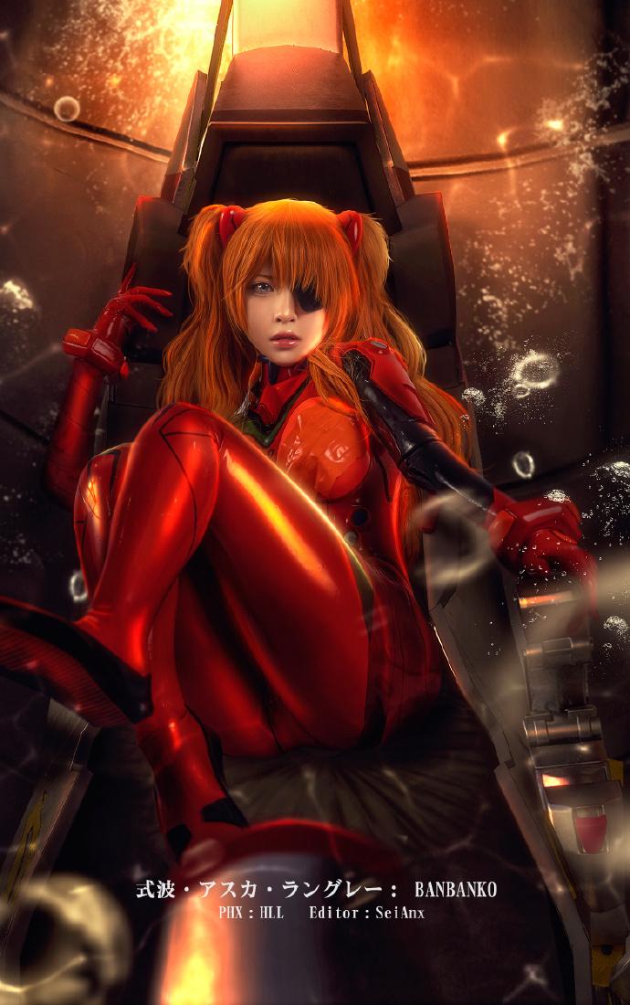 【cos正片】《新世纪福音战士》明日香 cosplay欣赏 cosplay-第10张