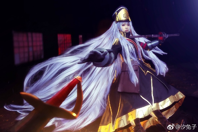 【COS正片】Re:CREATORS 军服公主 阿尔泰尔cos欣赏 cn:汐兔子 cosplay-第3张