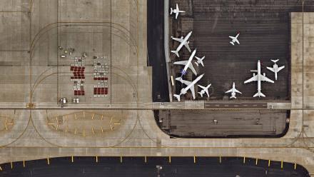 凤凰城天港国际机场鸟瞰图