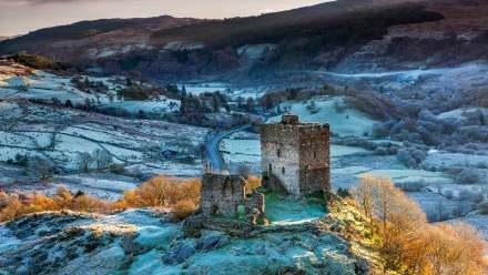 斯诺多尼亚国家公园多尔威泽兰城堡