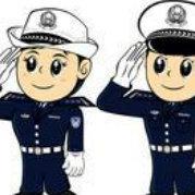 城阳交警巡逻中队微博照片