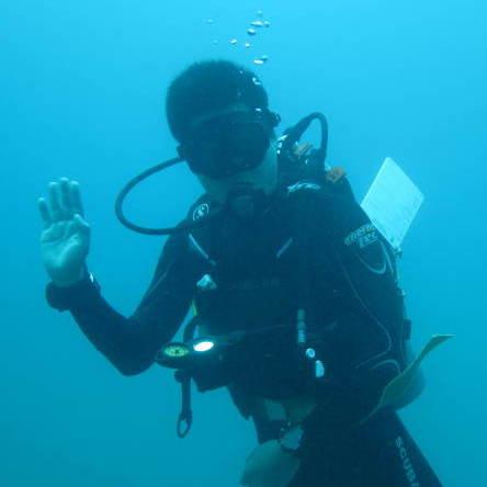 巴厘岛潜水中文教练-杨静鲁