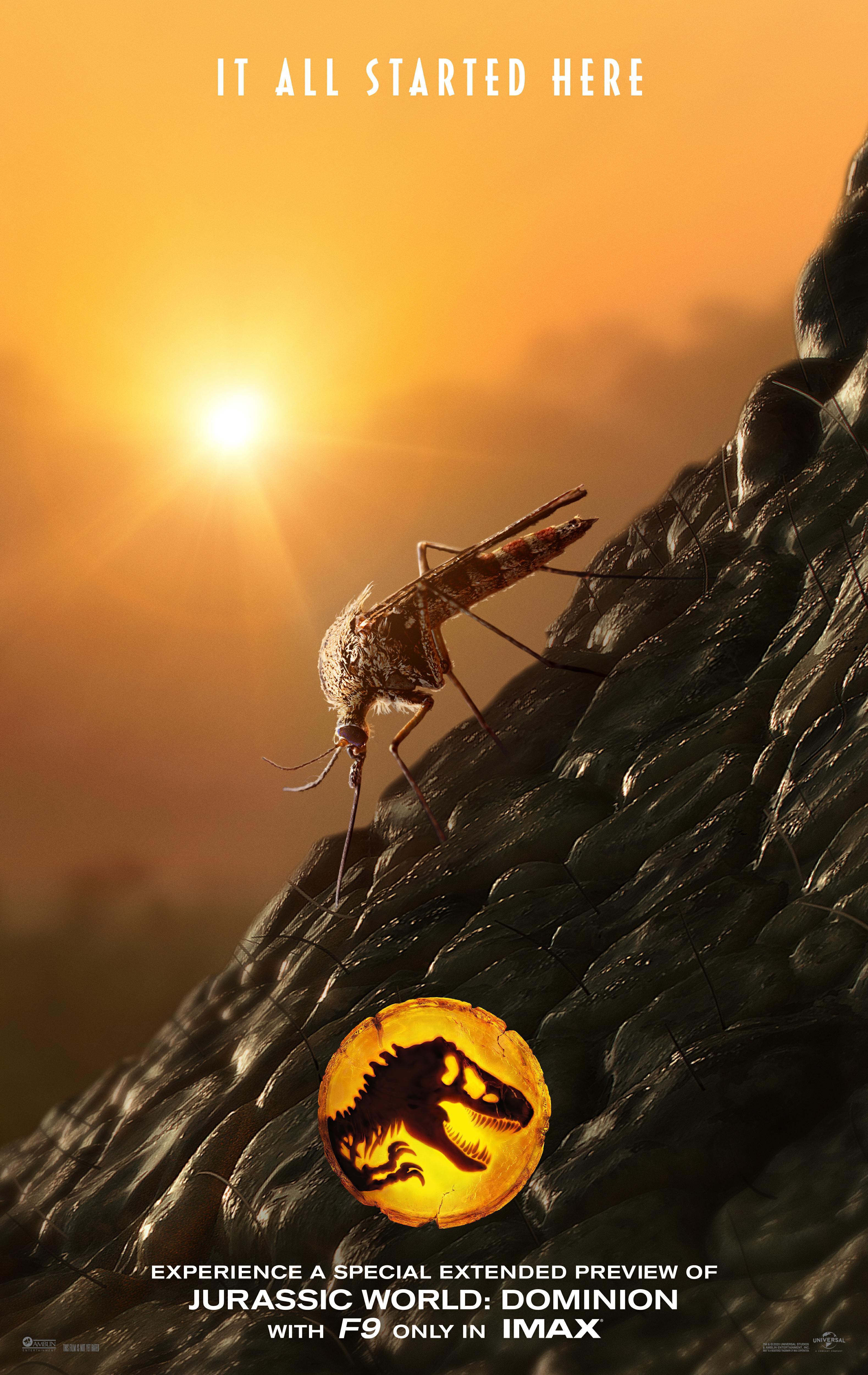 影视资讯侏罗纪世界3新海报
