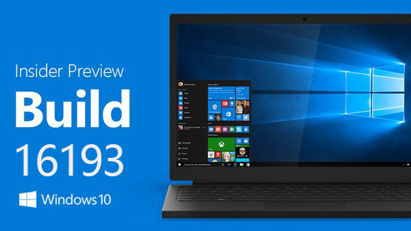 Windows 10秋季创意者更新 Build 16193 ISO镜像下载的照片