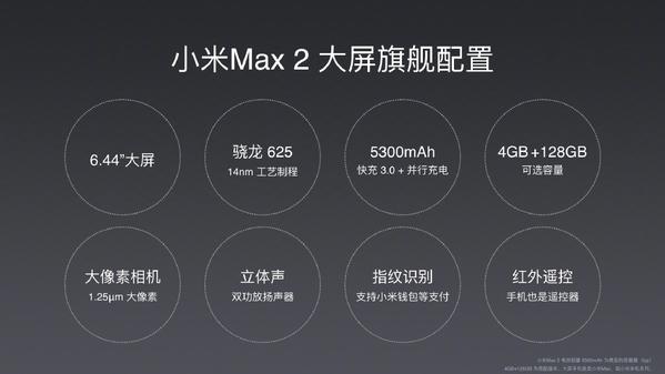 小米Max 2正式亮相 新配方老味道的照片 - 3