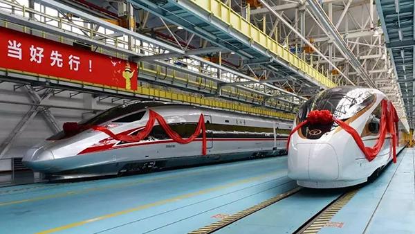 中国自主复兴号动车组揭幕!你想知道的全在此的照片 - 1
