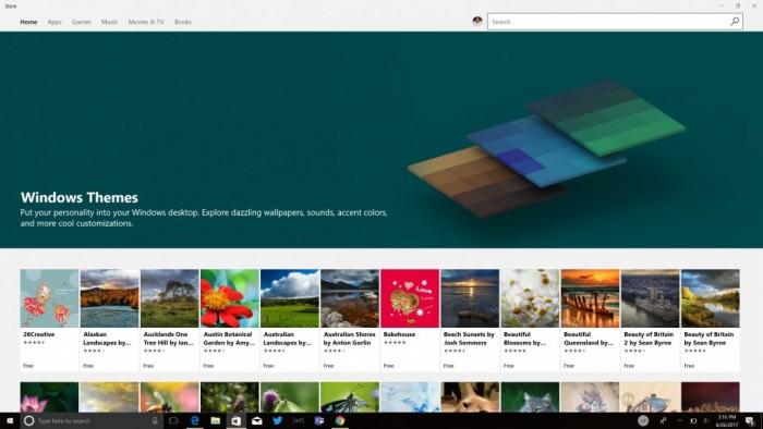 微软:用主题、个性化设置来装扮你的电脑的照片