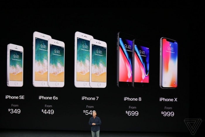 苹果秋季发布会:iPhone 8/8 Plus/X三款新机发布的照片 - 1