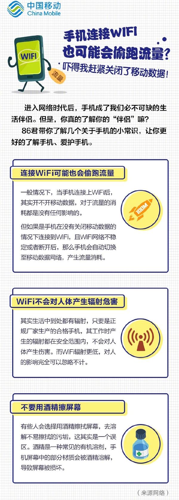 手机连Wi-Fi也会偷跑流量?运营商解答的照片 - 2