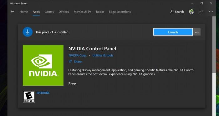 NVIDIA控制面板应用登陆Win10的照片 - 2