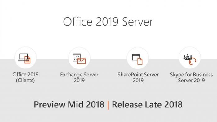 Office 2019服务器SKU上线:Exchange Server 2019暂无法运行的照片