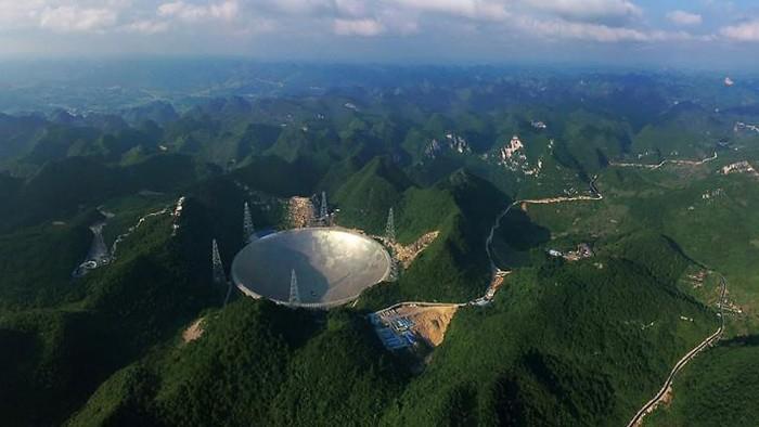 "FAST将验收:""中国天眼""10万年薪难觅驻地科研人才的照片"