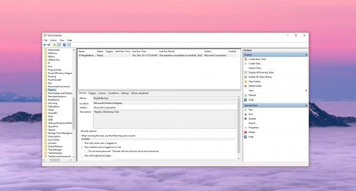 日常坑用户之Win10十月更新注册表备份功能形同虚设的照片