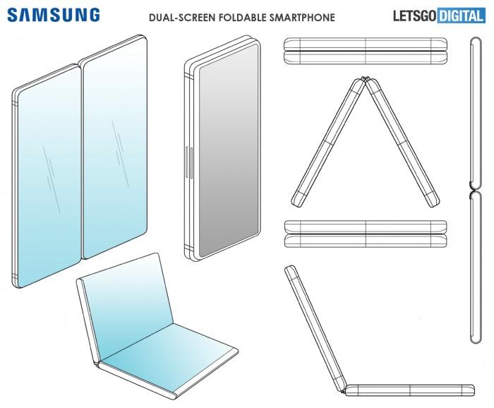 三星新专利折叠双屏手机曝光 神似微软Surface Phone的照片 - 2