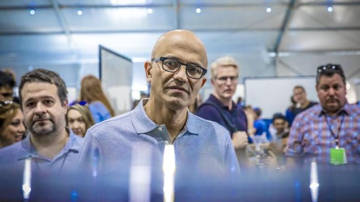 微软时隔20年重回全球市值第一 是运气还是实力?的照片